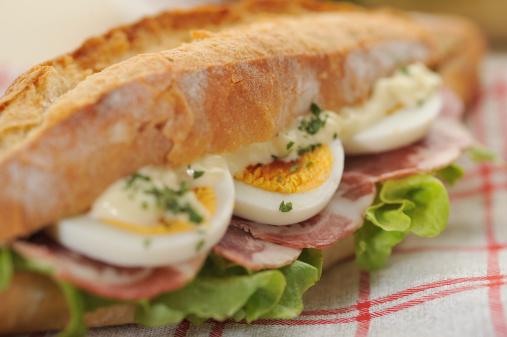 Sandwich「Close-up on baguette sandwiches」:スマホ壁紙(11)