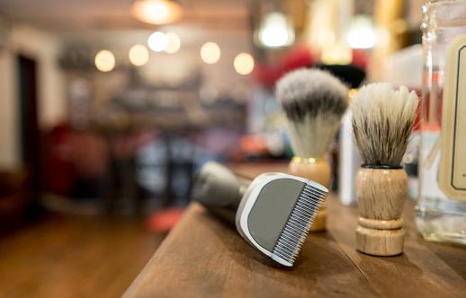 Hairdresser「Close-up on a grooming kit for men」:スマホ壁紙(13)