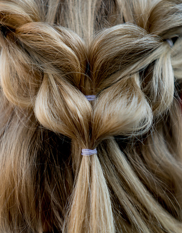 Hairstyle「Close-up on a beautiful braided hairdo」:スマホ壁紙(6)