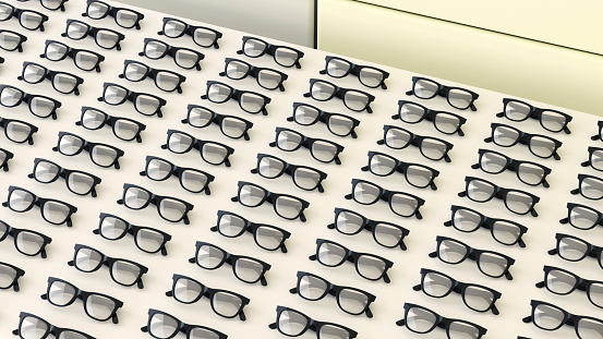 Equality「Rows of black glasses on a table」:スマホ壁紙(6)
