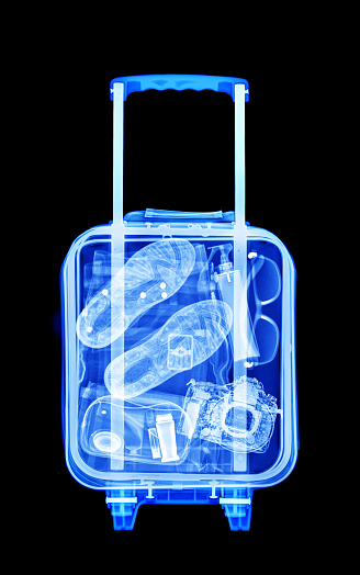 Weekend Activities「Mans vacation luggage x-ray」:スマホ壁紙(12)