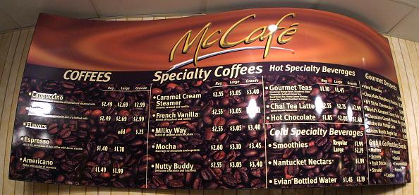 Menu「McDonald's McCafe Coffee Shop」:写真・画像(16)[壁紙.com]