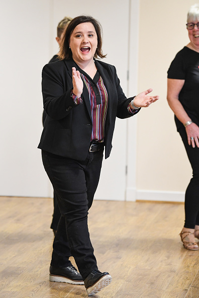 Event「Susan Calman Joins Line Dancing Senior Citizens To Launch The National Lottery Awards 2018」:写真・画像(2)[壁紙.com]