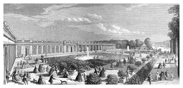 Ornamental Garden「The Grand Trianon, (1885).Artist: Rigaud」:写真・画像(8)[壁紙.com]