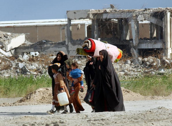 Bedding「Civilians Flee Basra」:写真・画像(4)[壁紙.com]