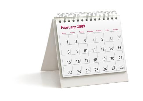 2009「Desktop Calendar: February 2009」:スマホ壁紙(7)