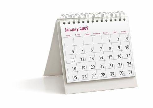 2009「Desktop Calendar: January 2009」:スマホ壁紙(4)