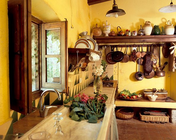 2008「Lateral view of a country kitchen」:写真・画像(5)[壁紙.com]