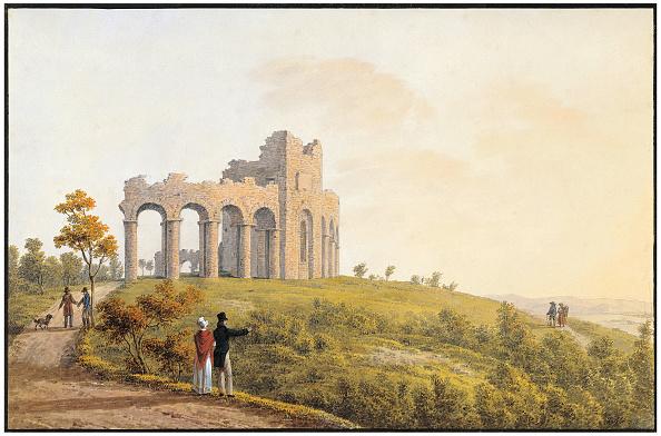 水彩画「Amphitheater」:写真・画像(8)[壁紙.com]