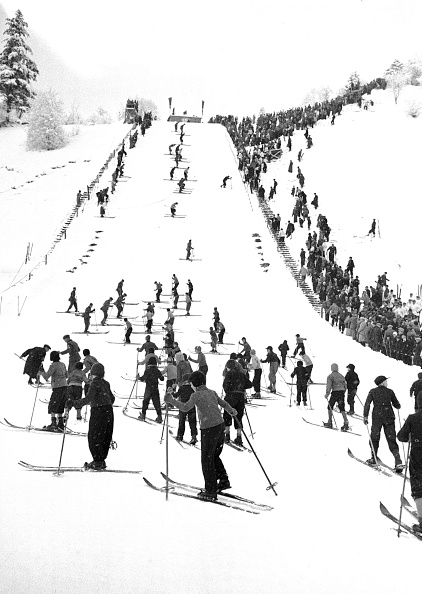 Garmisch-Partenkirchen「Winter Olympics 1936」:写真・画像(2)[壁紙.com]