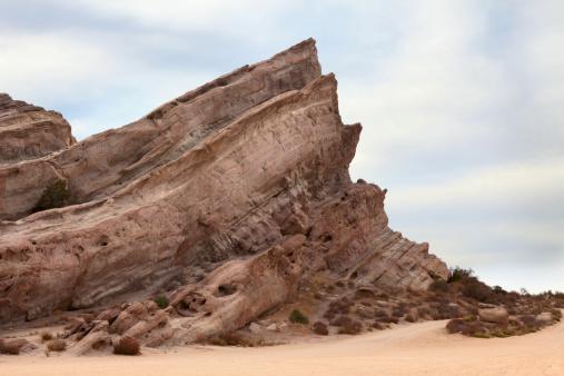 Rock Climbing「Vasquez Rocks, Western and Star Trek Setting」:スマホ壁紙(15)