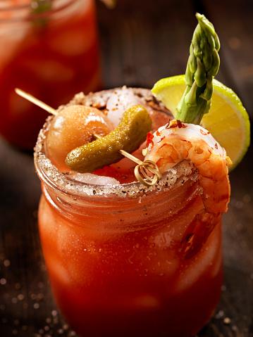 Vegetable Juice「Shrimp Bloody Mary or Caesar Cocktail」:スマホ壁紙(16)