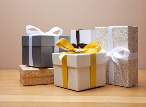 Generosity「Group of gift boxed presents with bows,」:スマホ壁紙(6)