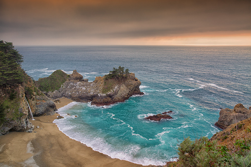 Big Sur「McWay Waterfall in Big Sur」:スマホ壁紙(6)