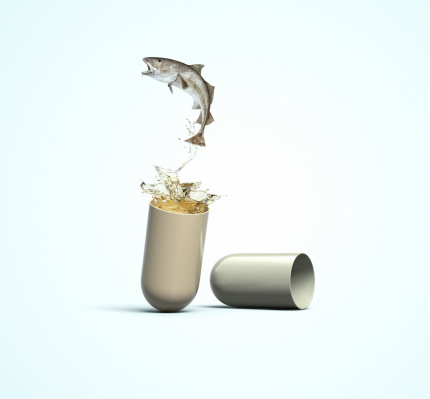Green Background「Cod Liver Oil Capsule」:スマホ壁紙(11)