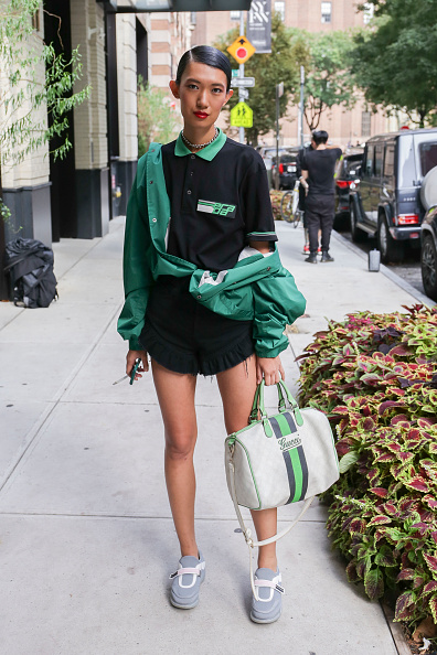 Achim Aaron Harding「Street Style - New York Fashion Week September 2018 - Day 7」:写真・画像(8)[壁紙.com]