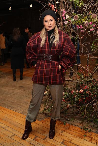 Brown Boot「Ulla Johnson - Front Row - February 2017 - New York Fashion Week」:写真・画像(8)[壁紙.com]