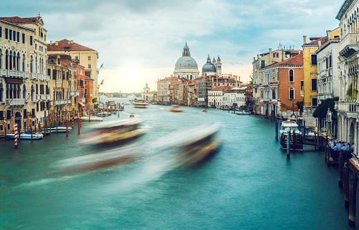 cloud「Iconic Venice, Grand Canal, Italy」:スマホ壁紙(14)