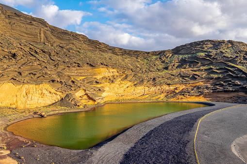 Lagoon「Lanzarote, Canary Islands - Charco de Los Clicos」:スマホ壁紙(4)