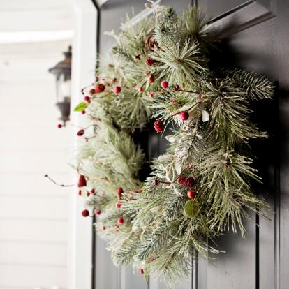 Wreath「Winter wreath」:スマホ壁紙(5)
