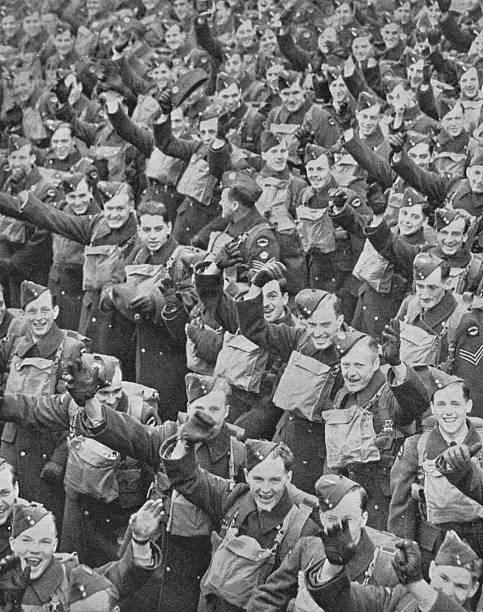 'Canada's Airmen Arrive', 1939, (1940):ニュース(壁紙.com)