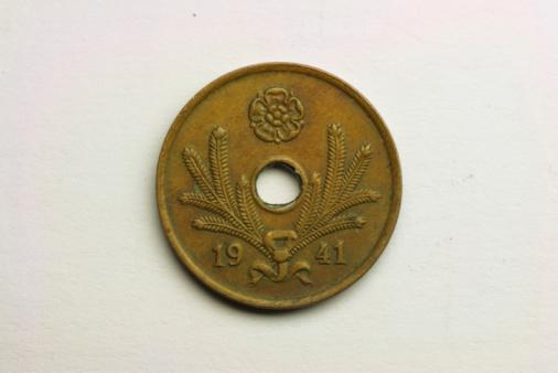 Frond「Vintage coin」:スマホ壁紙(5)