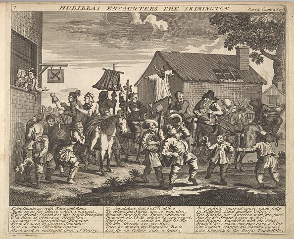 Butler「Hudibras Encounters The Skimmington (Plate 7: Illustrations To Samuel Butlers Hudi」:写真・画像(15)[壁紙.com]