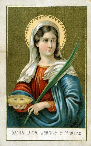 Fototeca Storica Nazionale「ITALY - SYRACUSE 1900: Saint Lucy with the palm of martyrdom and the silver tray with eyes」:写真・画像(17)[壁紙.com]