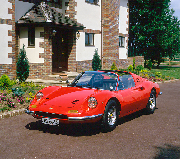 Ferrari「1973 FerrariDino 246 GTS」:写真・画像(4)[壁紙.com]