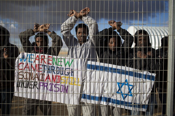 Israel「Asylum Seekers Protest Outside Holot Center」:写真・画像(15)[壁紙.com]