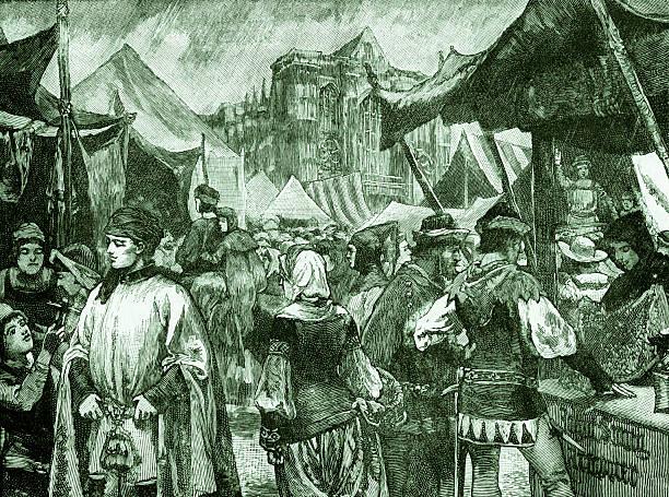 Fair at Westminster, 14th century:ニュース(壁紙.com)