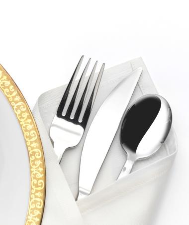 Napkin「Dinner Plate and Silverware」:スマホ壁紙(2)