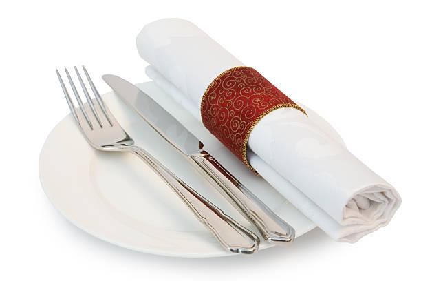 Dinner plate knife and fork:スマホ壁紙(壁紙.com)