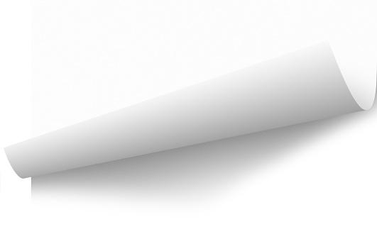 透明「窓際の紙のページのリフトピーリング、クリッピングパス」:スマホ壁紙(2)