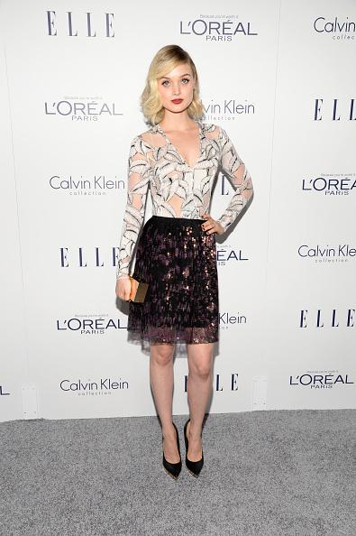 Sequin Skirt「22nd Annual ELLE Women In Hollywood Awards - Arrivals」:写真・画像(16)[壁紙.com]