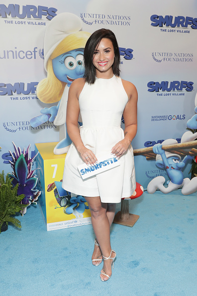 Demi Lovato「UN And Smurfs: The Lost Village Celebrate International Day Of Happiness」:写真・画像(14)[壁紙.com]
