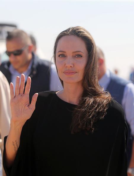 Angelina Jolie「Angelina Jolie Attends UNHCR Press Conference」:写真・画像(16)[壁紙.com]