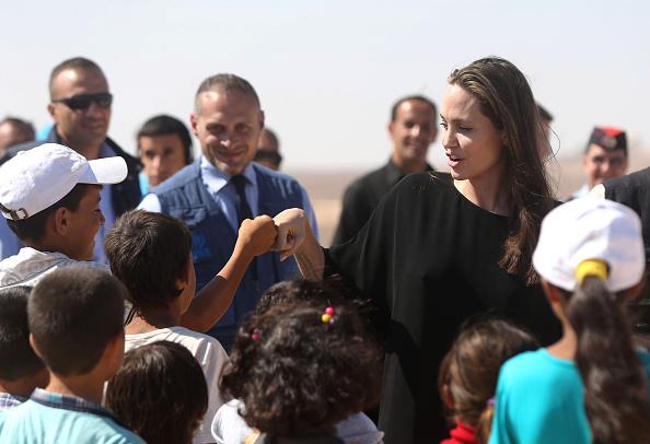 Angelina Jolie「Angelina Jolie Attends UNHCR Press Conference」:写真・画像(19)[壁紙.com]
