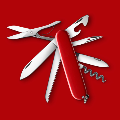 Red Background「All Purpose Knife」:スマホ壁紙(17)
