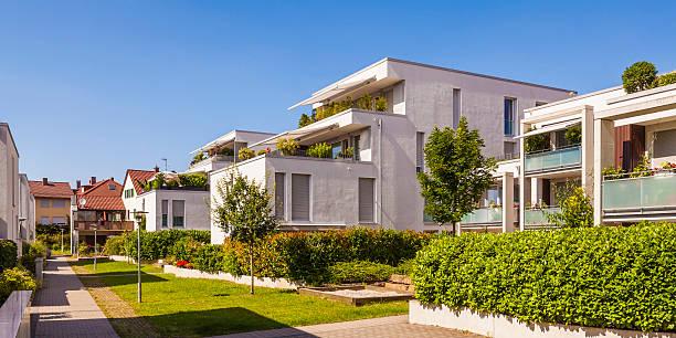 Germany, Fellbach, passive house development area:スマホ壁紙(壁紙.com)