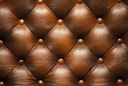 茶色「ブラウンレザーの背景」:スマホ壁紙(8)