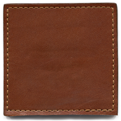 Square Shape「Brown Leather Texture」:スマホ壁紙(16)