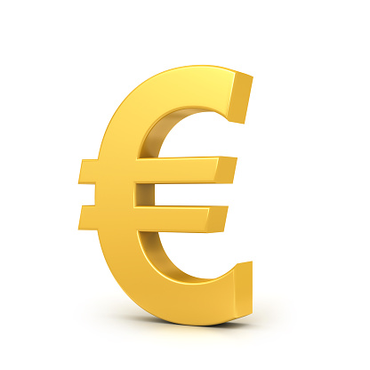 European Union Currency「Golden euro sign」:スマホ壁紙(10)
