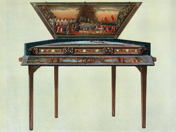 シタール「Seventeenth Century Dulcimer From H Boddingtons Collection 1」:写真・画像(9)[壁紙.com]