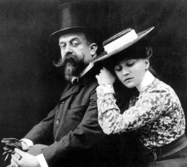 French Culture「french writer Colette and husband Willy c.1902」:写真・画像(4)[壁紙.com]