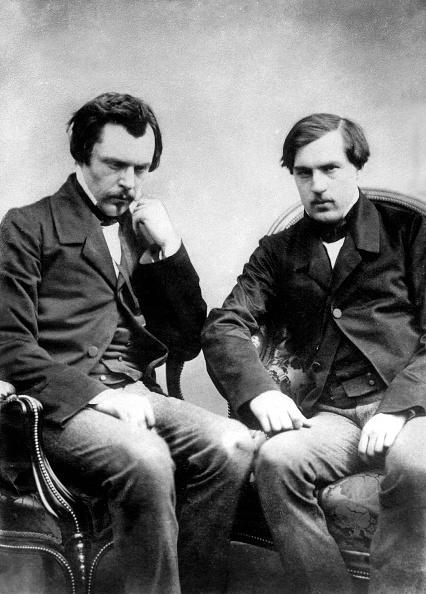 兄弟「french writers brothers Edmond and Jules de Goncourt c. 1855 picture by Nadar」:写真・画像(6)[壁紙.com]