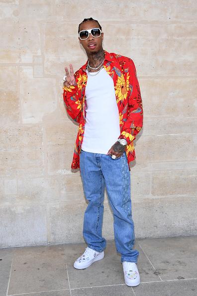 パリ・メンズ・ファッションウィーク「Louis Vuitton : Front Row  - Paris Fashion Week - Menswear Spring/Summer 2018」:写真・画像(6)[壁紙.com]