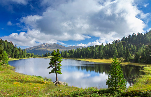 Alto Adige - Italy「Schwarzsee beautiful alpin lake in Austrian Alps」:スマホ壁紙(8)