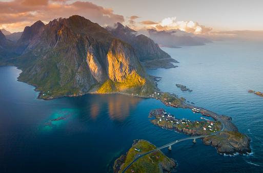 Arctic Ocean「Reine, Lofoten Islands」:スマホ壁紙(14)