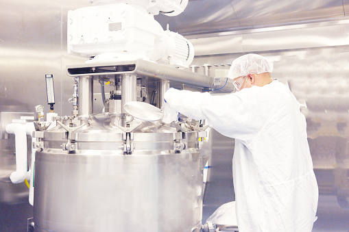Pharmaceutical Manufacturing Machine「Bioreactor」:スマホ壁紙(17)